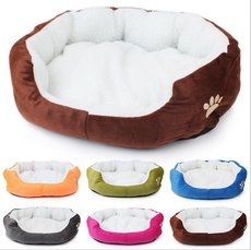 Cats Puppy Beds Nest Pad Soft Fleece Bed