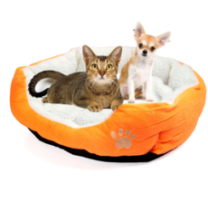 Pet Cat House Dog Bed Comfortable Soft Warm Cotton Sofa
